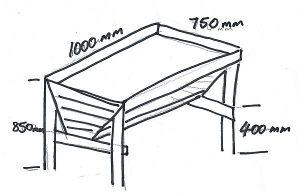 garden box plan
