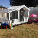 cubby house finished